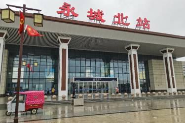 """人在旅途4954-从徐州东站到永城北:台风""""烟花""""继续肆虐"""
