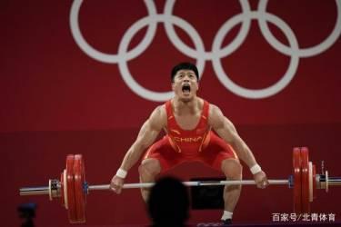 """中国男选手东京""""开和"""",李发彬""""金鸡独立""""照样举起166公斤"""