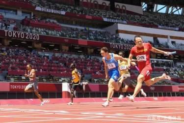 中国男子4X100米接力队最强阵容状态正火,登上领奖台绝非奢望