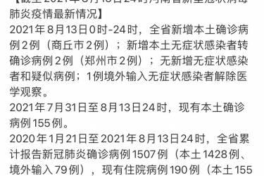 新闻多一度   虞城县涉嫌瞒报疫情,商丘疫情有多严重?