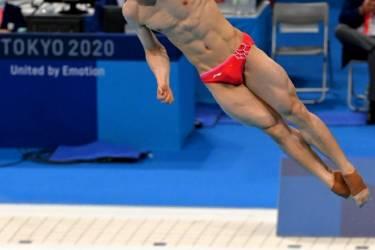 东京奥运会男子单人3米板:谢思埸夺金、王宗源摘银