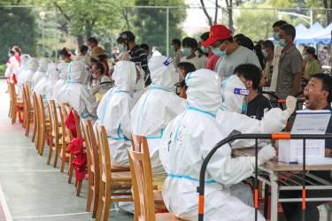 江苏扬州主城区开展第二轮大规模核酸检测
