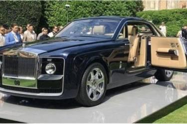 价值一个亿的豪车你见过么?香港富豪花费9500万购买了这辆车!