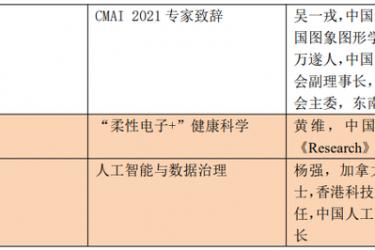 数十位放射科主任与AI专家齐聚,2021年医学人工智能大会将在京召开