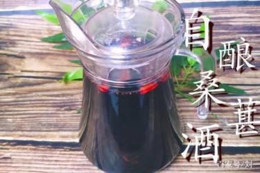 桑葚酒的做法,老刘手把手教你,酸酸甜甜,放一年都不会坏