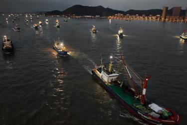 开渔喽!舟山渔船全面解禁!目标东海,扬帆起航