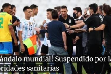南美足联:巴西vs阿根廷腰斩,国际足联决定后续